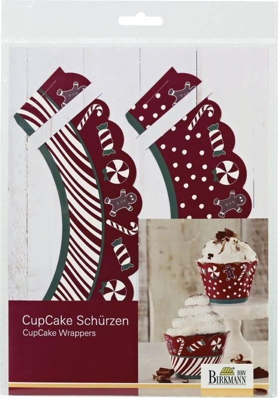 Vánoční obaly na muffiny CANDY CHRISTMAS - Birkmann