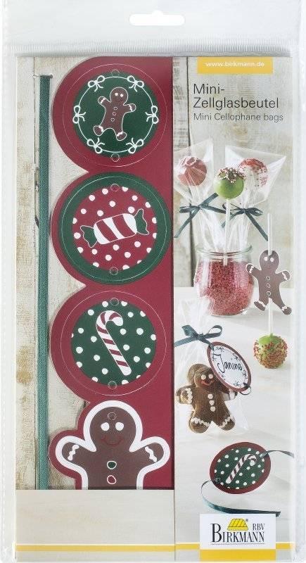 Malé celofánové sáčky – Vánoce - Birkmann
