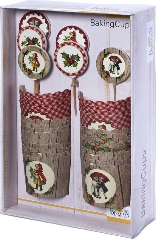 Sada na zdobení dortíků – vánoční poezie - Birkmann