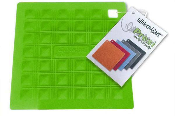 Silikonová podložka pod nádobí – zelená - Silikomart