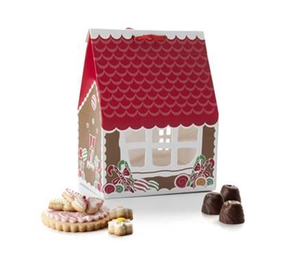Krabička na cukroví domeček 4ks - Ibili