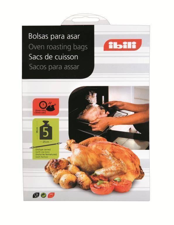 Sáčky na pečení 25x38cm set – 5ks - Ibili