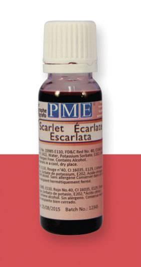 PME airbrush barva základní – šarlatová - PME