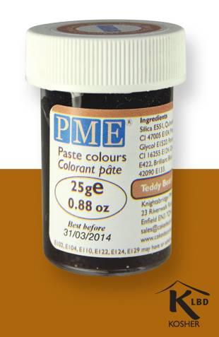 PME gelová barva - hnědá - PME