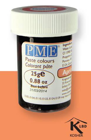 PME gelová barva - meruňková - PME