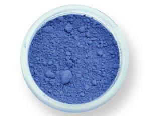 Prachová barva matná – safírově modrá 2g - PME
