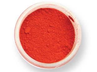 Prachová barva matná – červené chilli 2g - PME