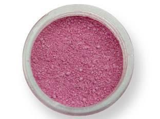 Prachová barva lesklá – růžová 2g - PME