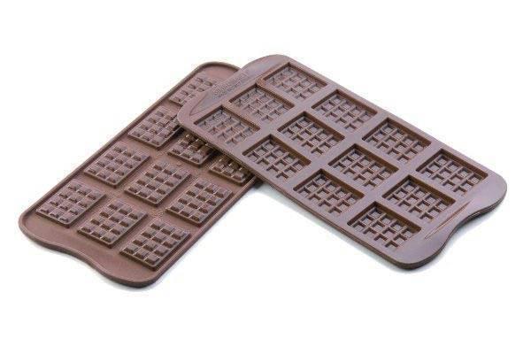 Silikonová forma na čokoládu – tabulky - Silikomart