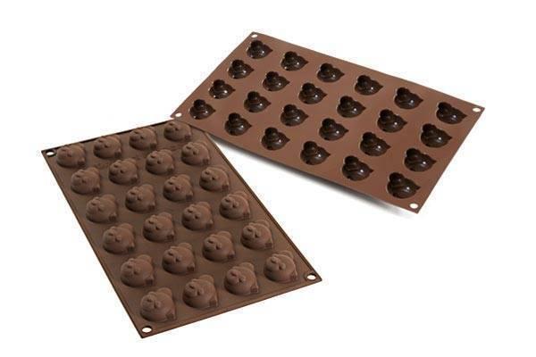 Silikonová forma na čokoládu – panda - Silikomart