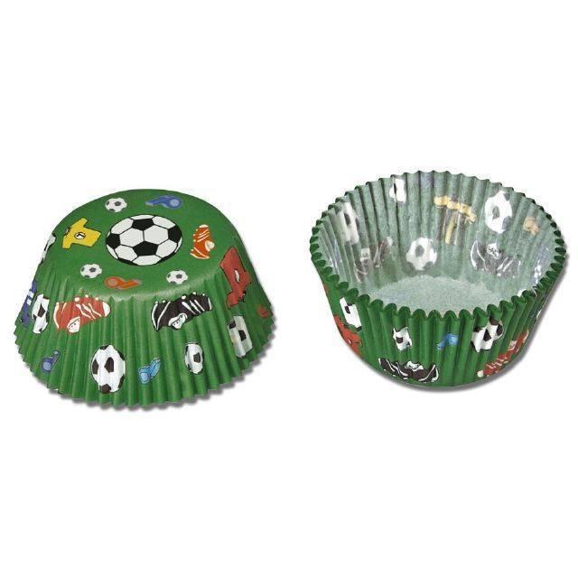 Papírové pečicí formičky fotbalové - Stadter