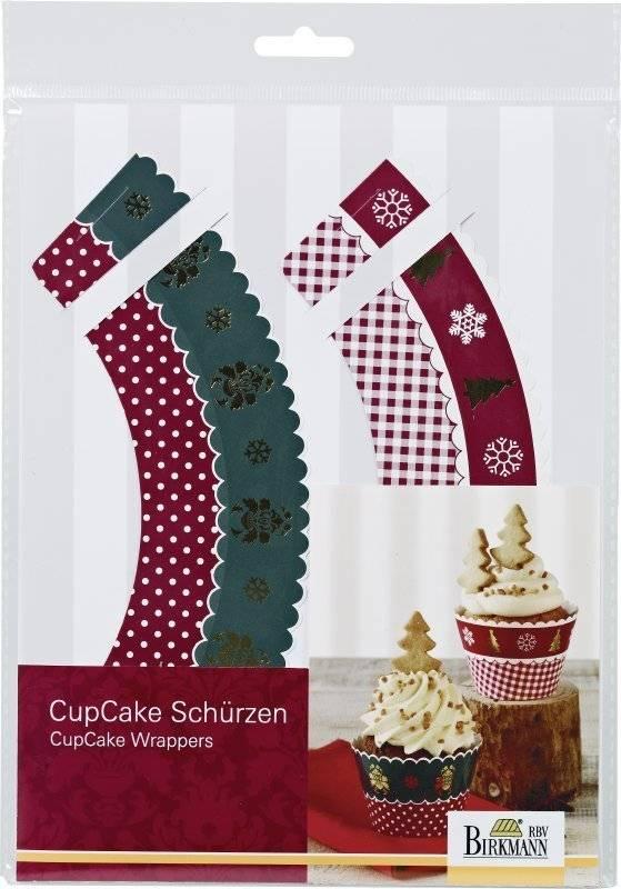 Vánoční obaly na muffiny NOSTALGIC CHRISTMAS - Birkmann