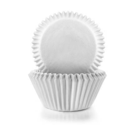 Papírové košíčky bílé 100ks - Ibili