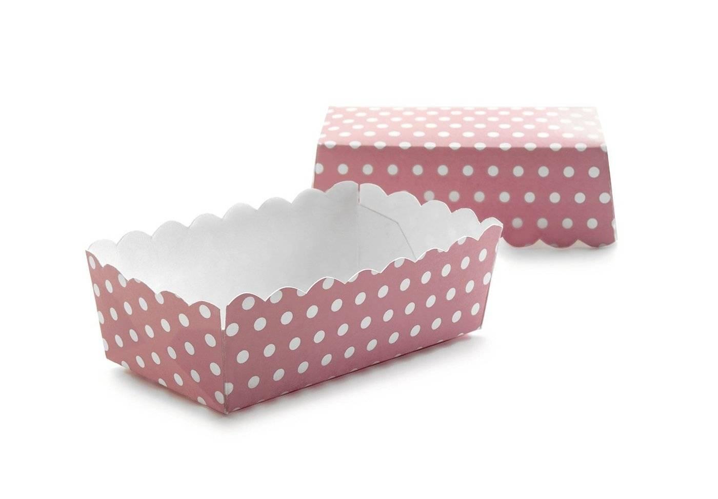 Papírová krabička růžová 12ks - Ibili