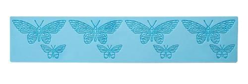 Silikonová reliefní podložka - Motýlci - Ibili