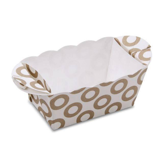 Papírová formička na pečení 7cm x 4cm kolečka - Stadter