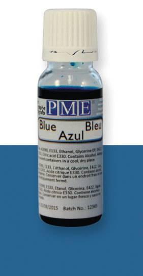 PME airbrush barva základní – modrá - PME