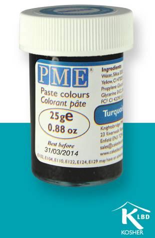PME gelová barva - tyrkysově modrá - PME