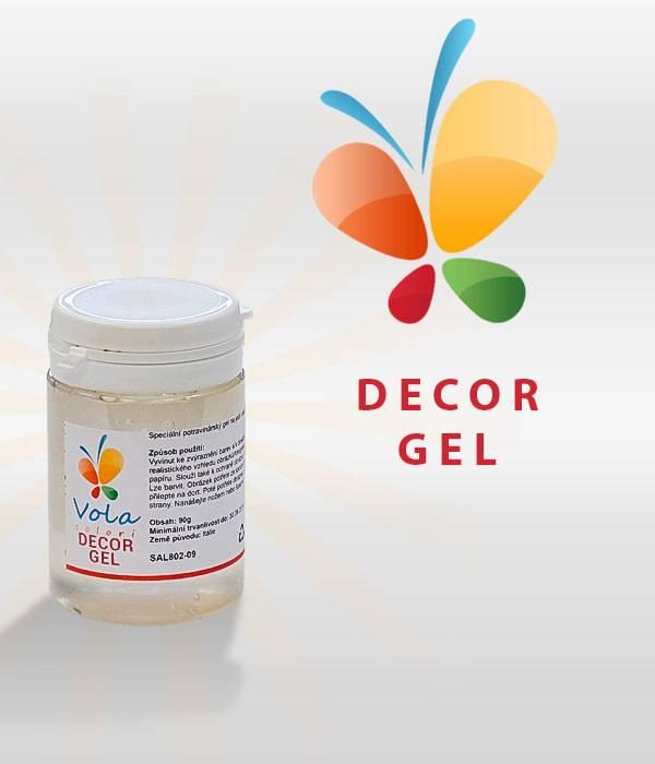 Decor Gel na jedlý papír 90g - Vola colori