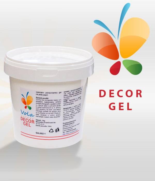 Decor Gel na jedlý papír 1kg - Vola colori