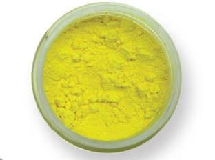 Prachová barva matná – světle žlutá EKO balení 2g - PME
