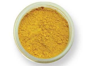 Prachová barva matná – žlutá EKO balení 2g - PME