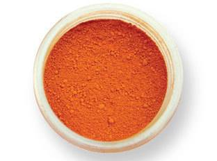 Prachová barva matná – oranžová EKO balení 2g - PME