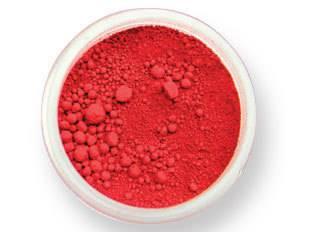 Prachová barva matná – sametově červená EKO balení 2g - PME