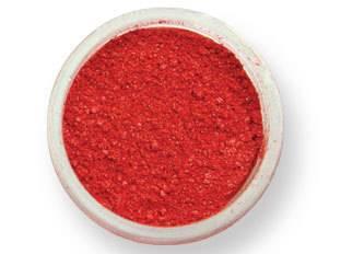 Prachová barva lesklá – červená EKO balení 2g - PME