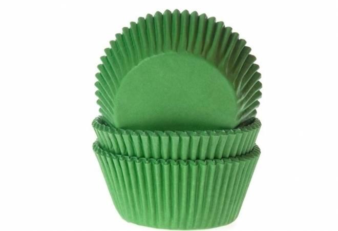Košíček na muffiny zelený 50ks - House of Marie