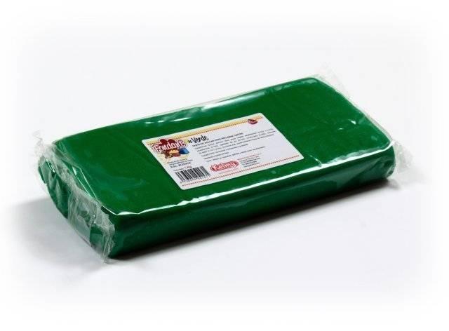 Potahovací hmota 1 Kg - zelená - Kelmy