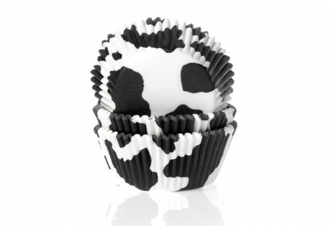 Košíček na muffiny černá kráva - House of Marie