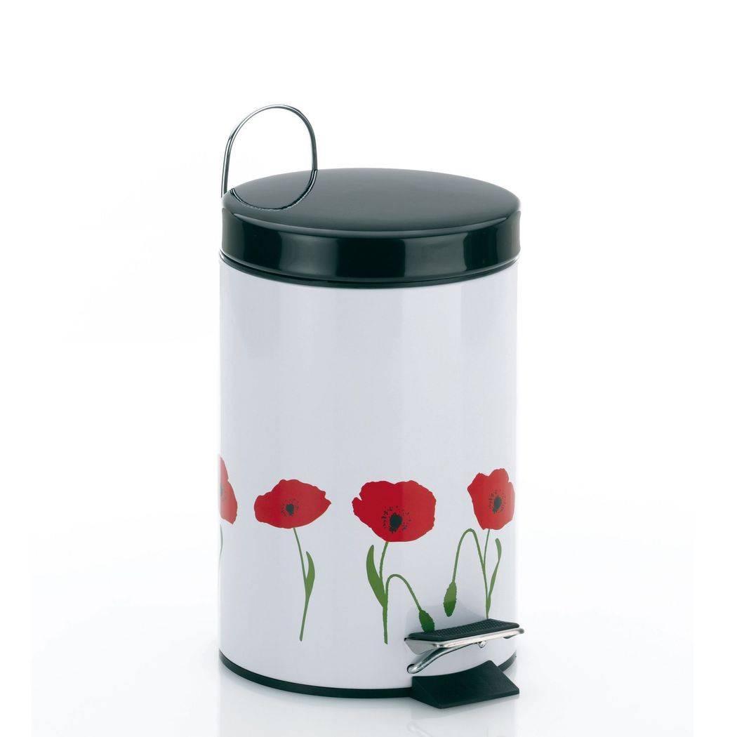 Odpadkový koš Poppy - kytičky 3l - Kela