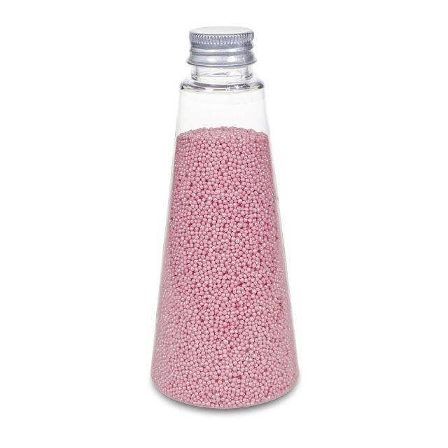Ozdobné perličky růžové s leskem - Stadter