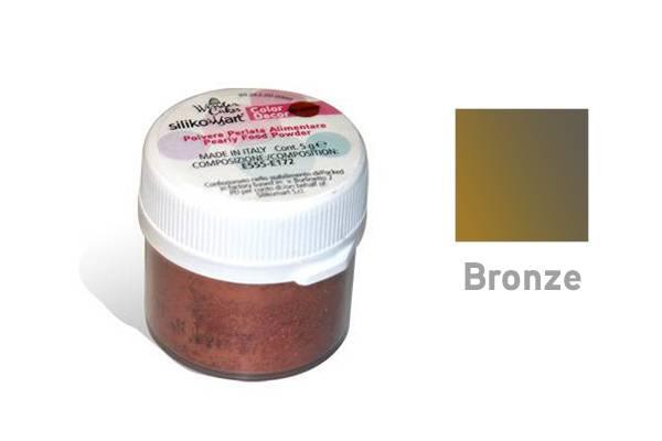 Prachová barva 5g - bronzová - Silikomart