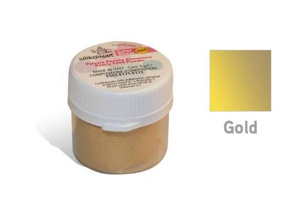 Prachová barva 5g - zlatá - Silikomart