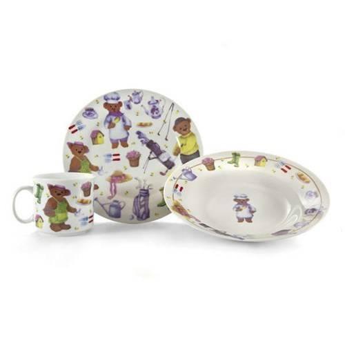 Dětská jídelní souprava - Medvídci - BANQUET