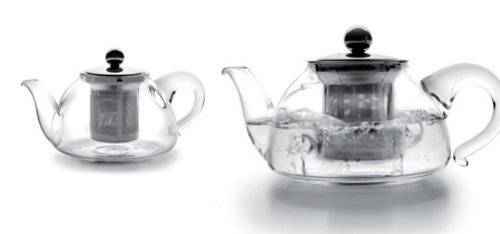 Skleněná čajová konvička s filtrem 800ml - Ibili