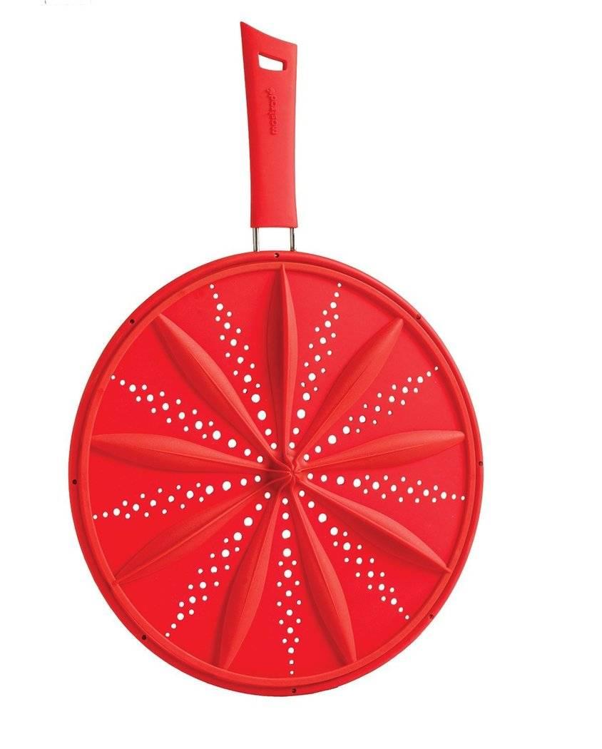 Silikonová poklička 2v1 28cm- červená - Mastrad