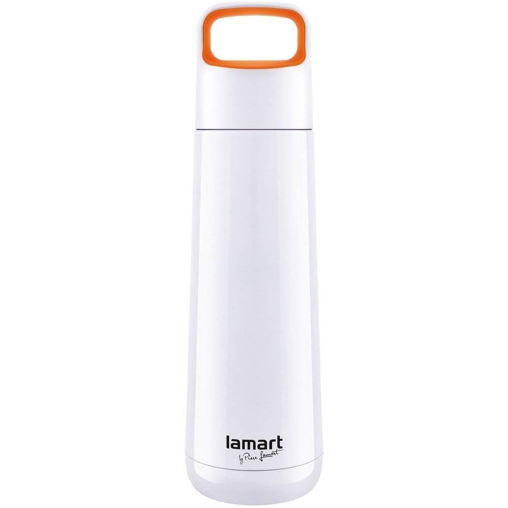 Termoska Porter 0,45l, bílo/oranžová LT4007 - Lamart
