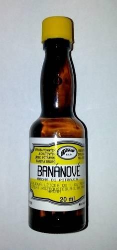Aroma do potravin 20ml - Banánové - AROCO