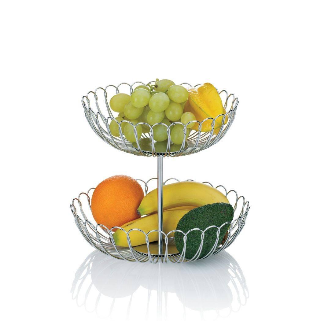 Košík na ovoce dvoupatrový - Kela