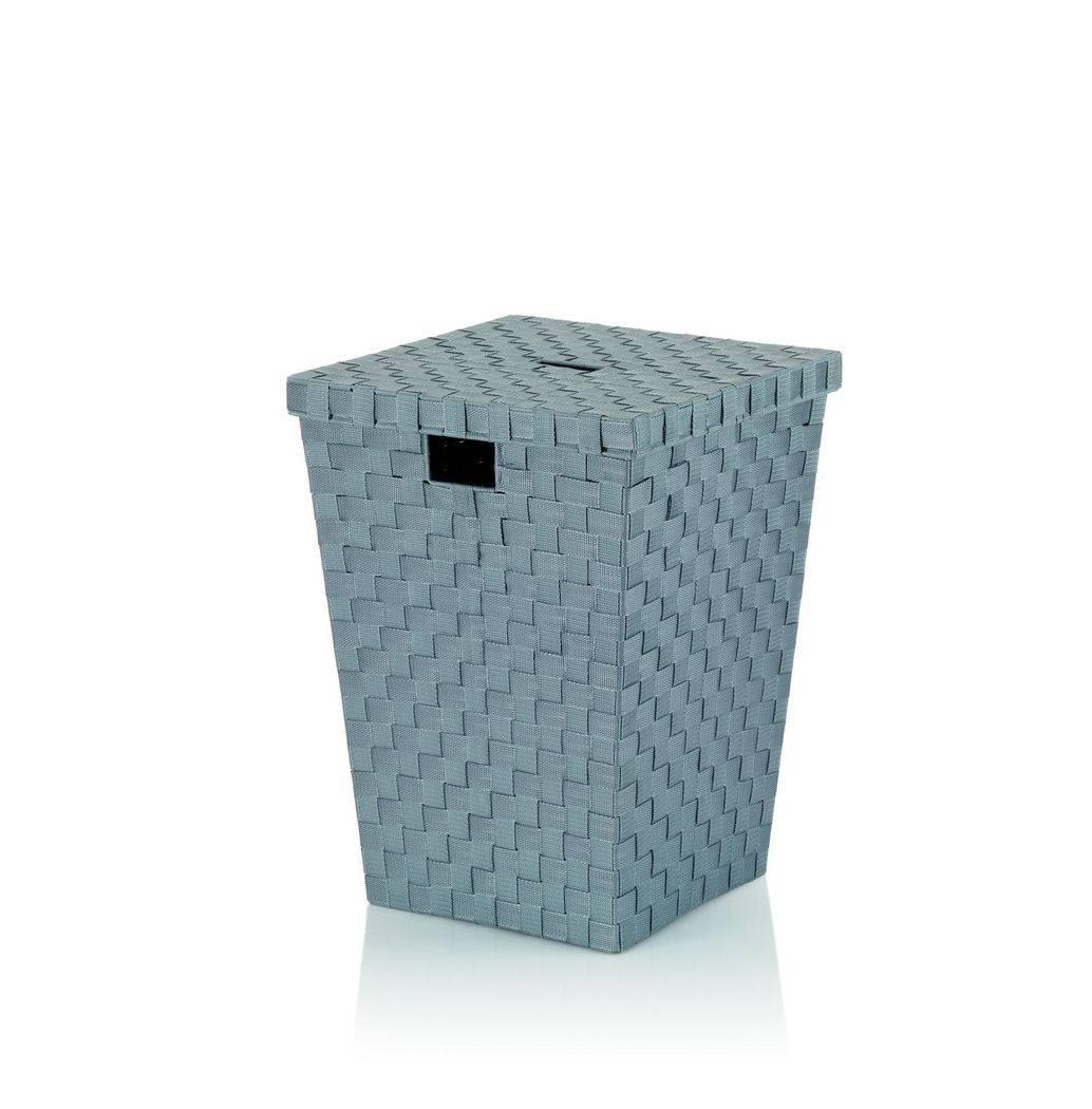 Koš na prádlo Alvaro šedý, 40x40x52cm KL-23072 - Kela