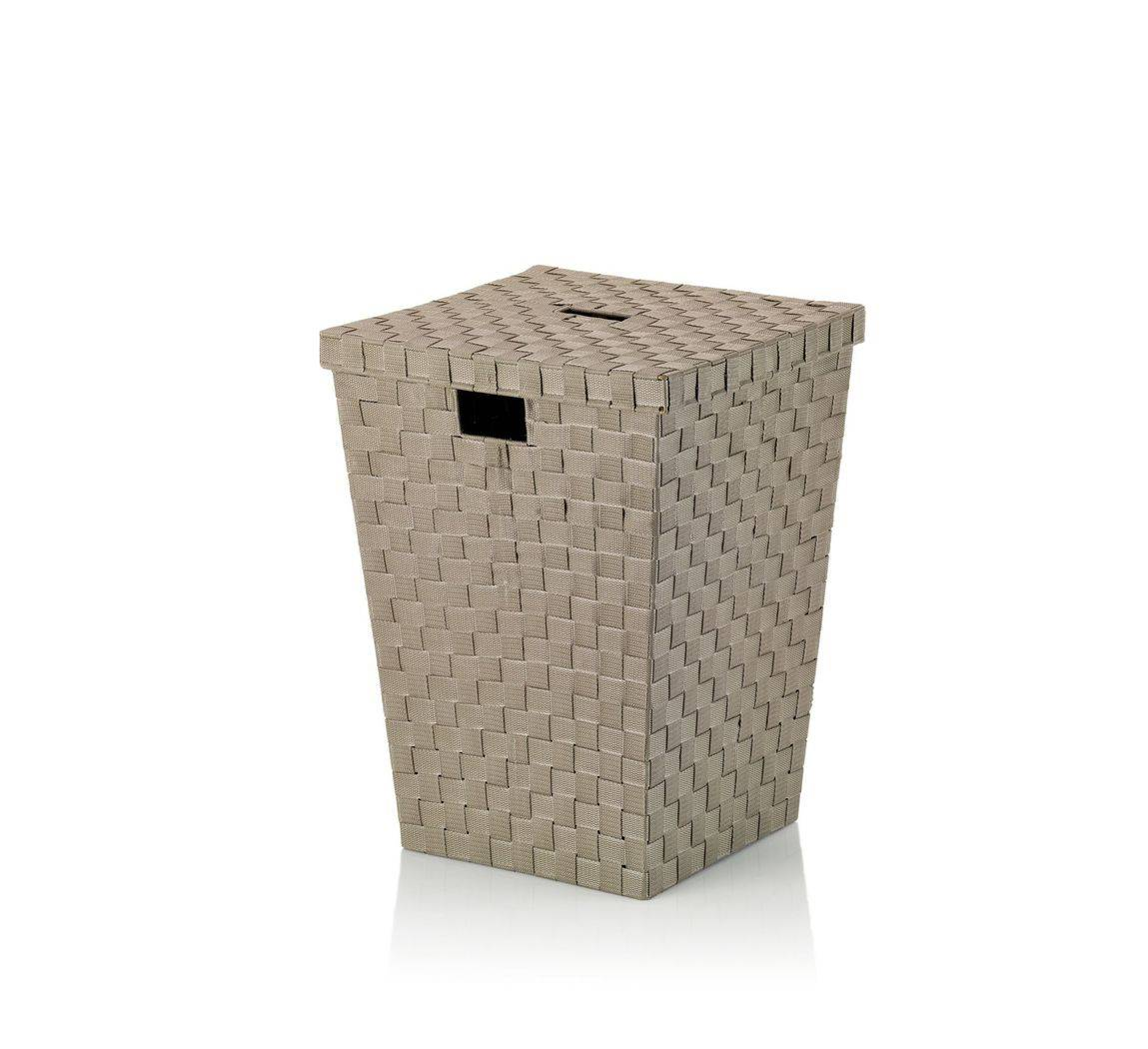 Koš na prádlo Alvaro pískový, 40x40x52cm KL-23073 - Kela