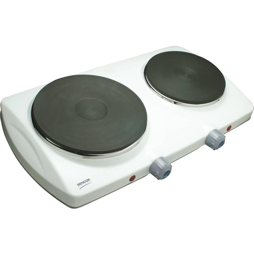 Dvouplotýnkový vařič SCP 2250WH - Sencor