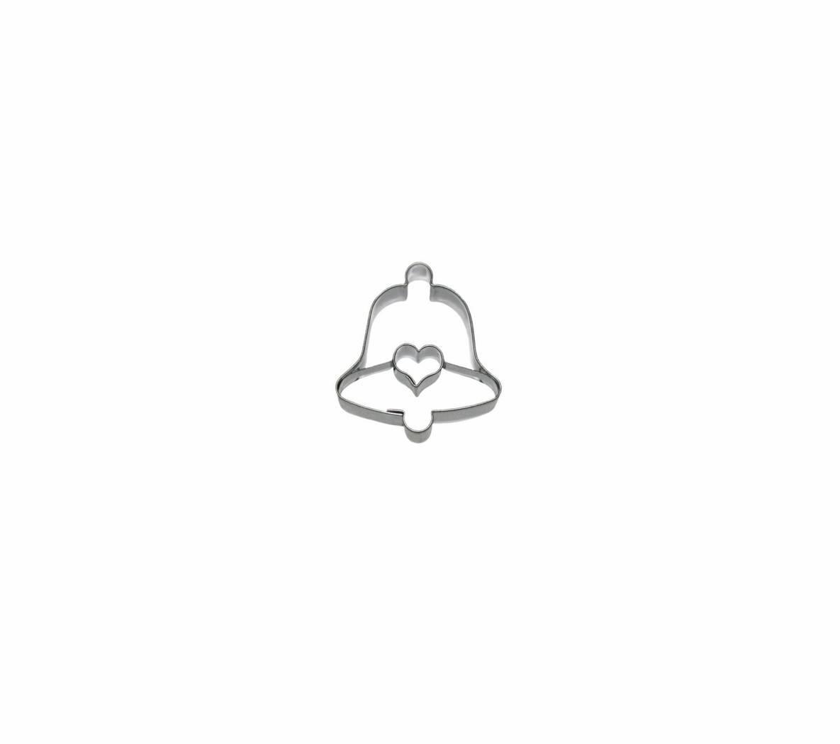 Vykrajovátko Zvonek III/srdíčko prohnuté - Smolík