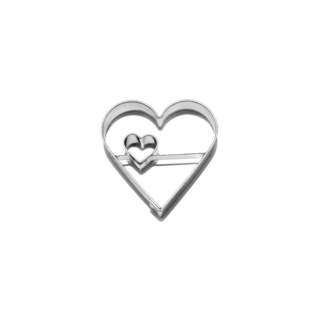 Vykrajovátko na cukroví Srdce / srdíčko - Smolík