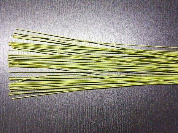 Culpitt Aranžovací drát č.28 -50 ks světle zelený -