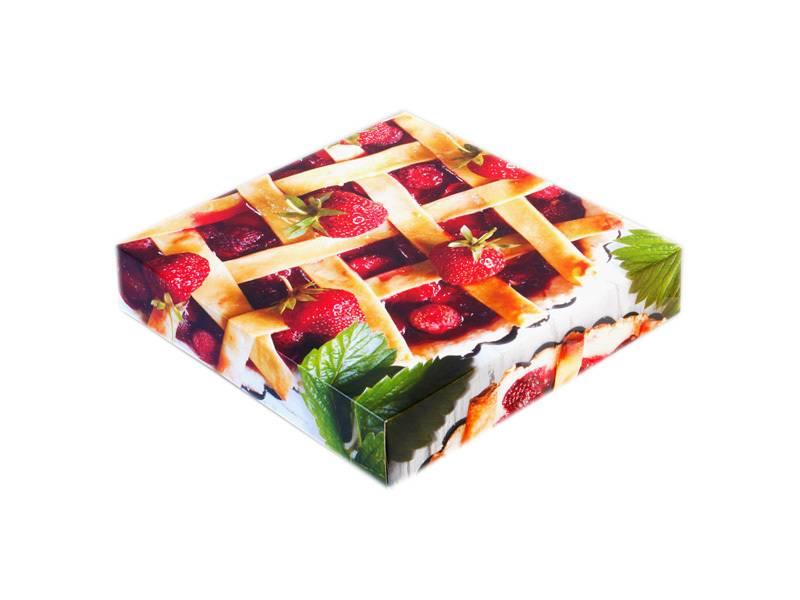 Krabice na koláč Bologna 26x5 - KartonMat