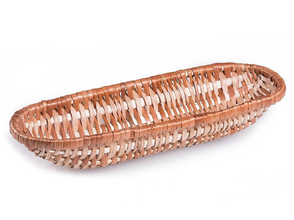 Ošatka oválná proutěná šenová na kynutí chleba 32x12cm - na 0,7kg - Jipro